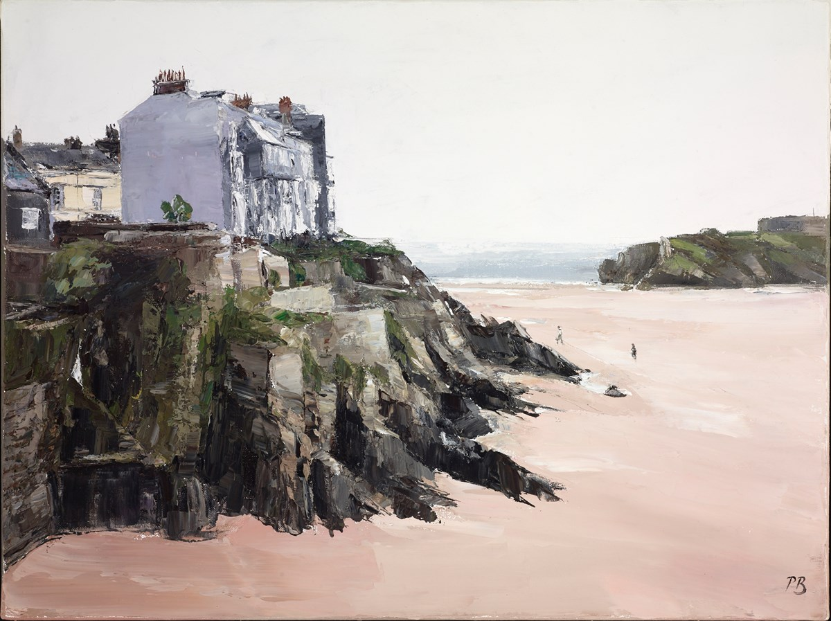 North Beach, Tenby III by david porteous butler -  sized 24x18 inches. Available from Whitewall Galleries